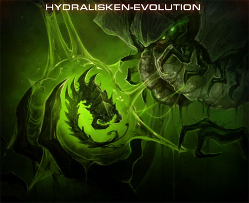 Evolution der Hydralisken